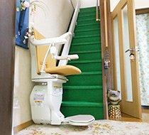 大阪府堺市/K邸 屋内まっすぐ階段の設置事例