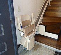 東京都荒川区/I邸 <p>屋内まっすぐ階段</p>の事例