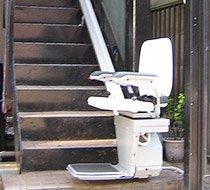 東京都大田区/M邸 屋外まっすぐ階段の設置事例
