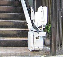 東京都大田区/M邸 <p>屋外まっすぐ階段</p>の事例