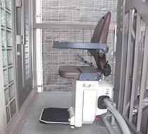 東京都豊島区/O邸 屋外曲がり階段の設置事例