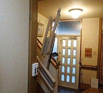 埼玉県越谷市/M邸 <p>屋内曲がり階段</p>の事例