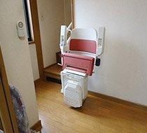 千葉県市川市/T邸 屋内曲がり階段の設置事例
