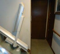 東京都文京区/I邸 <p>屋内まっすぐ階段</p>の事例