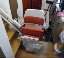 東京都三鷹市/S邸 屋内曲がり階段の設置事例