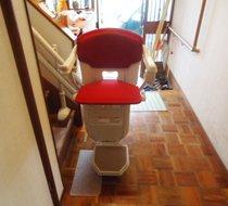 埼玉県飯能市/Y邸 屋内曲がり階段の設置事例
