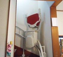 埼玉県飯能市/Y邸 <p>屋内曲がり階段</p>の事例